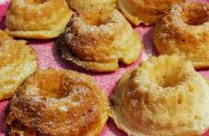 Narancskrémmel töltött gluténmentes muffin
