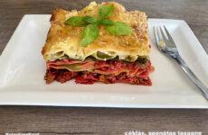 Színes, őszi gluténmentes lasagne - olasz klasszikus