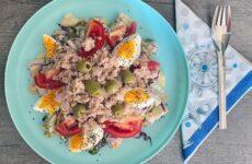 Tonhalas saláta, ahogy Kolos szereti